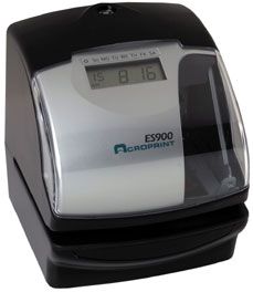 Acroprint ES900 ELECTRONIC TIME CLOCK