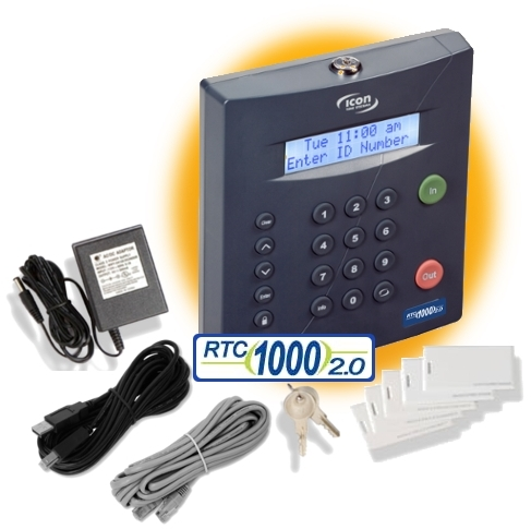 Icon RTC-1000 2.5 TIME CLOCK SYSTEM