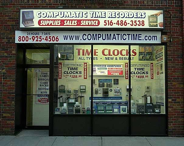 Compumatic Time Recorders, Inc Retail Store - Visit us at 1518 Bellmore Ave, North Bellmore NY 11710
