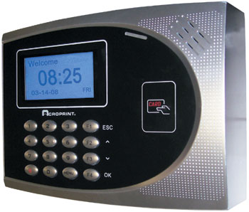 Acroprint timeQplus Proximity TIME CLOCK SYSTEM