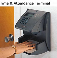 Biometric HandPunch Time Clock